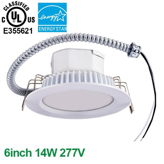 6inch 14W 100-277V Economic Commercial LED Downlight