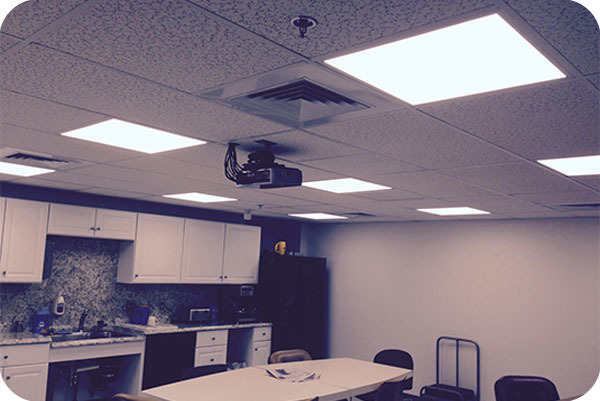 OKT 2x4ft Led Panel Light In Hospital Conference Room - Boston, MA, USA