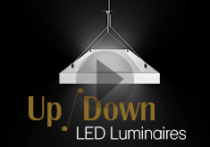 OKT Lighting--1x4ft Up/down Lumaires
