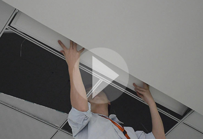 Installation Of 4ft & 6ft x 4inch LED Linear Panel