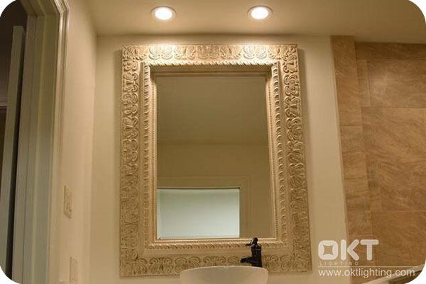 OKT Lighting 6inch 11W Downlight In The Bathroom In New Orleans