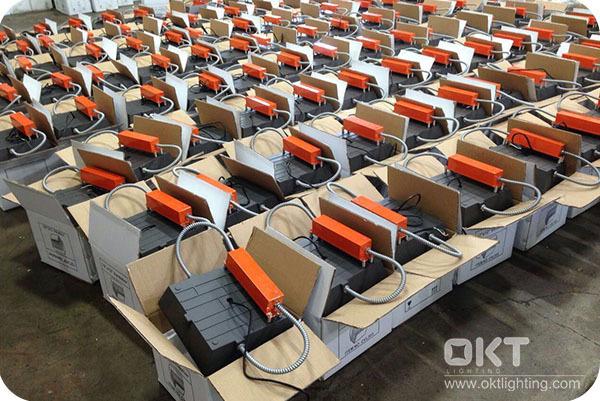 OKT Lighting 200pcs 8W Emergency Backup In Los Angeles Airport