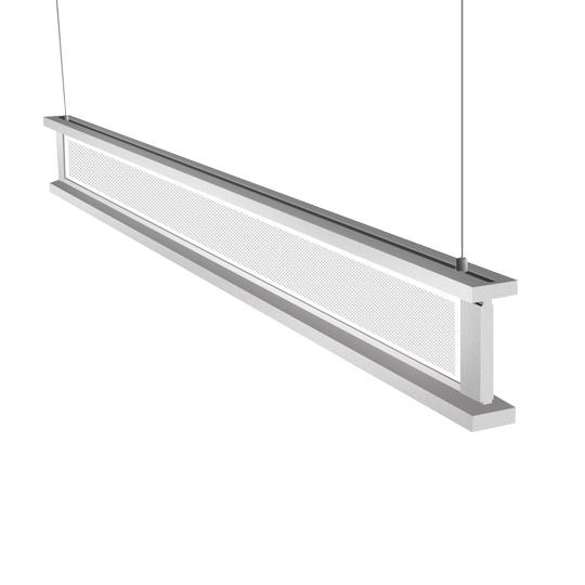 50W 4 feet Vertical LED Linear Pendant Fixture (Diffuser)