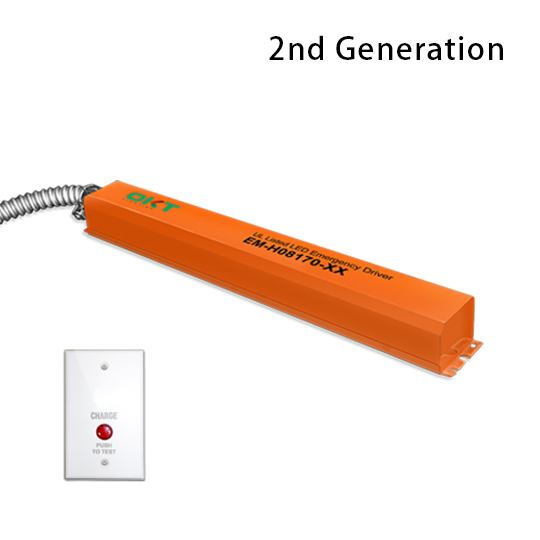 UL Listed LED Emergency Battery Driver for LED Luminaire with Internal Driver