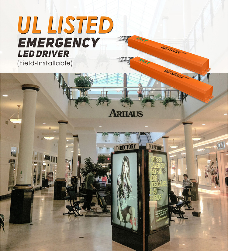 LED Emergency Battery Driver