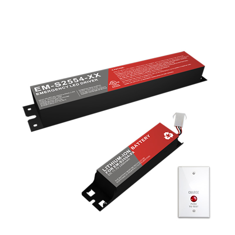 UL Listed Emergency LED Pack For Narrow Profile Housing